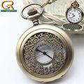 15o hotsale ebay retro bronze grande meia hunter vintage antigo relógio de bolso