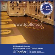 Multipurpose durable locker room flooring for wet place