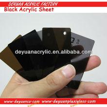 Transparent Black Acrylic Sheets/High Gloss Black Acrylic Sheet/Black Plexiglass sheet