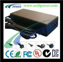 UL CE SAA GS FCC 24v 3a 72w power adapter high efficiency