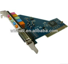 Best selling CMI8738 6 channel PCI Sound Card, hot pci 6ch Sound Card with CMI8738 chipset