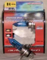 Auto Vision Diamond Blue Xenon Light Bulbs H4 12v 100 / 90w