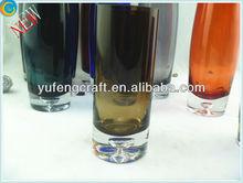 glass vases large,rose in a v