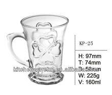 2013 hot sale!promotional beer glasses