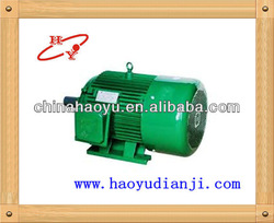 YD series three phase pole-change and multi-speed induction motor