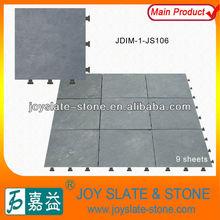 DIY slate patio types of stone