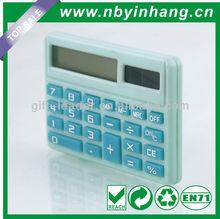 8 digits solar function solar power pocket calculator XSDC0120