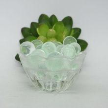 Greenbar Green metallic beads rainbow crystal soil