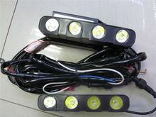 16W Car Led Daytime Running Light 8 Led DRL Daylight IP67 16W Car Led Daytime Running Light 8 Led DRL Daylight IP67 Waterproof