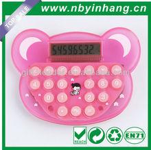 Bear shape plastic promotion calculator XSDC0103