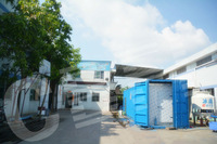 Fish, meat cold storage installed in the container for hot country