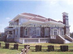 Newest! Economic prefabricated light steel villa house exported to Angola, South Africa, Venezuela, Austrilia with CE