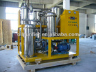 Used Dirty Engine Oil Purifier, Lubricant Oil Recycling System, Industrial Oil Filtering Unit
