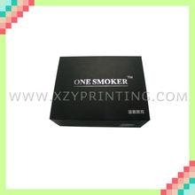 POpular black printed cardboard hot sale cigarette paper box