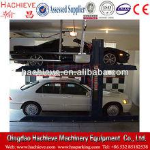 Hydraulic Two Post Car Parking Lift / Garage Parking Kits