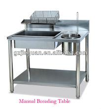 Dough Mixer Table,Breading Table,Wrapping Powder Table GW-1000 0086-13580508100