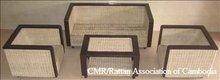 Rattan Sofa Wooden frame ( Normal Weave)