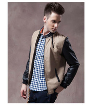 Designer Mens American Baseball Jackets/Stand Collar Leisure Jackets
