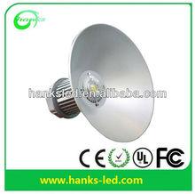 high brightness 5year warranty AC85-265V white 6500K 100w led high bay light