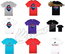Most popular embroidered stone washed blank t-shirts