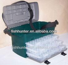 Lure Fishing Tackle Box Plastic Box seat box fishing