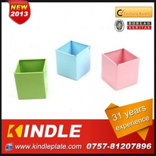 Kindle 2013 New polychrome large metal flower pots with 31 years experience