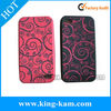 silicone custom rubber phone case for iphone
