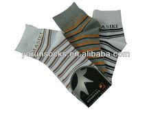 168n---200n fancy classic 100% cotton men ankle socks sport socks