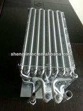 pinna e scambiatore di calore tubo di rame alluminio