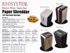 BIOSYSTEM Office Use/Medium Office/ Heavy Duty Paper Shredder