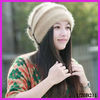 Woman's cap hat wool accessories new winter wool blend knit