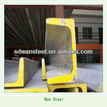 U beam steel channel steel (JIS,BS,ASTM,EN,GOST,A36,Q195,Q235,SS400,Q345)