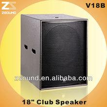 "V18B KTV karaoke 18"" subwoofer"