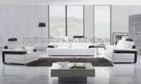 2013 Hot Sale French Sofa 1+2+3 modern design Top Grain leather Sectiona sofa bad A317-2O