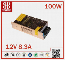 Miniature Switching Power Supply 12V 100W high quality 8A with CE ROHS