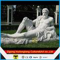 Jardim escultura de Zeus estátua em fibra de vidro