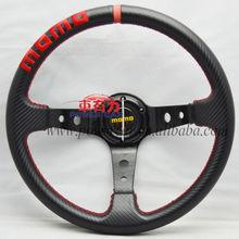 momo steering wheel new style suede racing car steering wheel