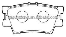 Auto car parts Rear Brake Pads D1632-8332 for Lexus HS250h 2012