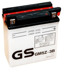GM5Z-3B -Motorcycle Battery (acid type)