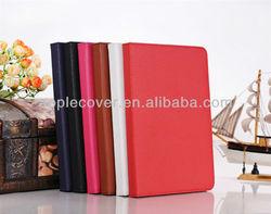 Elegant Lichee Pattern Stand PU Cover Case For iPad Mini Smart Case