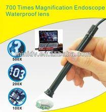 HOT DEALS!! 7 mm Lens USB 2.0 endoscope sheath 6- LED IP67 Waterproof 5M