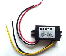 Dc dc convertisseur abaisseur module de régulateur de tension à 6v 3a 9-20v, 12v à 6v voiture adaptateur secteur a conduit