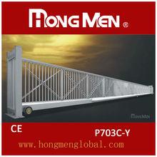 China aluminium stainless iron driveway gate