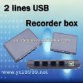 2 linhas usb gravador de voz online com gravador de voz usb caller id