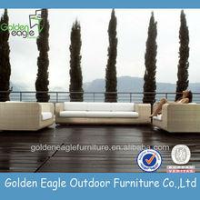 Garden set, PE rattan& aluminum furniture, mesh outdoor furniture