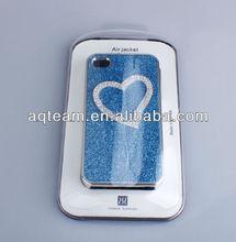 Shining Bling Diamond heart-shaped Hard Case for iPhone 4 4s