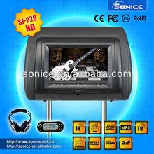 7 inch tft lcd headrest dvd car monitor