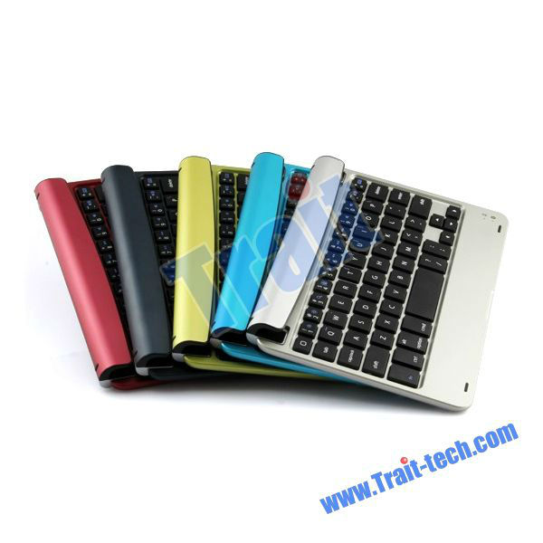 Aluminum Alloy Mini Wireless Bluetooth Keyboard 3.0 for iPad Mini with Battery Charger Function