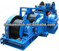 10~32T Electric Friction Winch for Pulling Boat/Ship