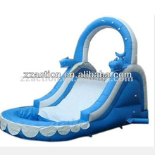 Commercial inflatable water park slide equipment for kids
